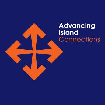 <small>Advancing<br> Island<br> Connections</small>